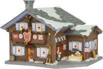 601020 Новогодний сувенир Пивнушка в снежном лесу Luville (h=14 см; s=17 см) купить