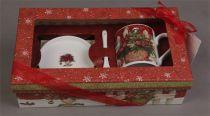 BR-M1-SET Чайный набор в подарочной коробке Mister Christmas (28х16х8 см) купить