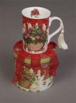 BR-M1 Кружка в подарочной коробке Mister Christmas (12,3х11,2 см) купить