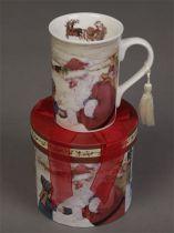 BR-M2 Кружка в подарочной коробке Mister Christmas (12,3х11,2 см) купить