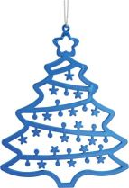 B 120-9-TREE-MIX-1 Набор украшений Ёлочки Mister Christmas (h=120 мм; цвет: синий) купить