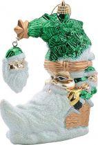 B 2001 Украшение Месяц Mister Christmas (h=120 мм; цвет: зеленый) купить