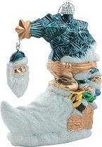 B 2003 Украшение Месяц Mister Christmas (h=120 мм; цвет: синий) купить
