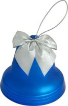 B 60-BELL-101 Набор украшений Колокольчики Mister Christmas (d=60 мм; цвет: синий; матовый) купить