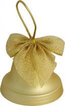 B 60-BELL-103 Набор украшений Колокольчики Mister Christmas (d=60 мм; цвет: золотой; матовый) купить