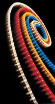 CF/RED Световой шнур Чейзинг Флексилайт (d=13 мм; красный; 220В) купить