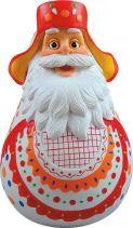 DKM-02 Неваляшка Дед Мороз Mister Christmas (дымковская; h=11 см) купить