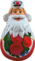 DKM-05 Неваляшка Дед Мороз Mister Christmas (классическая; h=11 см) купить