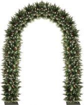 DOOR ALASKA Украшение из искусственной хвои Арка Mister Christmas (h=2,5 м; цвет: зеленый) купить
