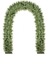 DOOR YUKON Украшение из искусственной хвои Арка Mister Christmas (h=2,5 м; цвет: зеленый) купить