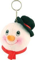 DP-03/2 Брелок Снеговик Mister Christmas (d=10 см) купить