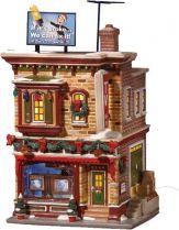 DP-55612 Новогодний сувенир Телевидение и Hi-Fi Department 56 (h=22 см; s=15 см) купить
