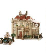DP-799909 Новогодний сувенир Особняк с фонтаном Department 56 (h=18 см; s=22 см) купить