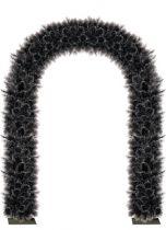 F-DOOR DOUGLAS BLACK Украшение из искусственной хвои Арка Mister Christmas (h=2,5 м; цвет: черный) купить