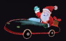 FA-B-420 Панно светодинамическое Дед Мороз Mister Christmas(l=1,02 м; h=0,65 м;разноцветный; 220В) купить