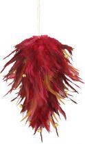 Украшение интерьерное Mister Christmas (h=13 см; цвет: бордовый) купить