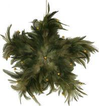 FBM-105/6 Украшение интерьерное Звезда Mister Christmas (d=18 см; цвет: зеленый) купить
