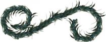 FBM-108/3 Украшение интерьерное Гирлянда Mister Christmas (l=2,4 м; цвет: бирюзовый) купить