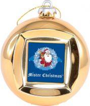 FRAME BALL/3 Шар цифровая фоторамка Mister Christmas (d=65 мм; цвет: золотой) купить