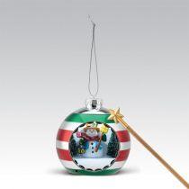 G14222 Композиция Снеговик Mister Christmas (h=17 см, музыка, движение) купить