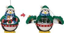 G17063 Композиция Пингвин Mister Christmas (h=13 см; музыка, движение) купить