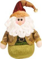 GZ-DM-3 Мягкая игрушка Дед Мороз Mister Christmas (h=17 см) купить