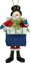 KDL-01 Украшение подвесное Mister Christmas (7х2х12,5; в ассортименте) купить