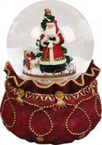 KH-MWG-1 Снежный шар Mister Christmas (d=100 мм; музыка, движение) купить