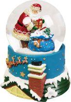 KH-MWG-3 Снежный шар Mister Christmas (d=100 мм; музыка, движение) купить