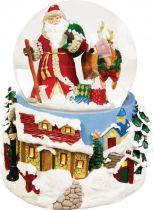 KH-MWG-4 Снежный шар Mister Christmas (d=100 мм; музыка, движение) купить