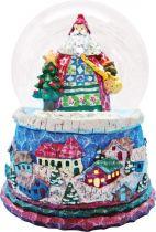 KH-MWG-6 Снежный шар Mister Christmas (d=100 мм; музыка, движение) купить