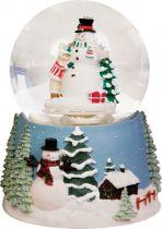 KH-MWG-7 Снежный шар Mister Christmas (d=85 мм; музыка, движение) купить