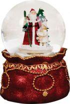 KH-MWG-8 Снежный шар Mister Christmas (d=85 мм; музыка, движение) купить