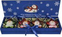 LH-B1-SET/4 Набор украшений в деревянной коробке Mister Christmas (4 шт.) купить