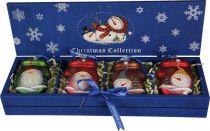 LH-B2-SET/4 Набор украшений в деревянной коробке Mister Christmas (4 шт.) купить