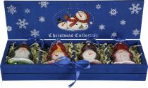 LH-B3-SET/4 Набор украшений в деревянной коробке Mister Christmas (4 шт.) купить