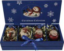 LH-F2-SET/4 Набор украшений в деревянной коробке Mister Christmas (4 шт.) купить