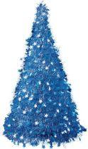 MT-12 Композиция фольгированная Елка Mister Christmas (h=1,25 м; цвет: синий) купить