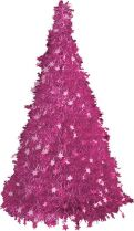 MT-15 Композиция фольгированная Ёлка Mister Christmas (h=1,25 м; цвет: розовый) купить