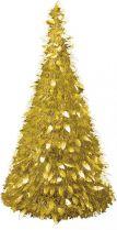 MT-21 Композиция фольгированная Елка Mister Christmas (h=1,25 м; цвет: золотой) купить