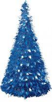 MT-22 Композиция фольгированная Елка Mister Christmas (h=1,25 м; цвет: синий) купить