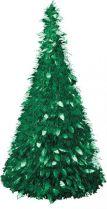 MT-23 Композиция фольгированная Елка Mister Christmas (h=1,25 м; цвет: зеленый) купить