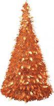MT-24 Композиция фольгированная Елка Mister Christmas (h=1,25 м; цвет: оранжевый) купить