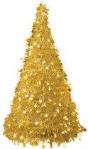 Композиция фольгированная Елка Mister Christmas (h=2,4 м; цвет: золотой) купить