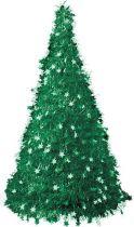 Композиция фольгированная Елка Mister Christmas (h=2,4 м; цвет: зеленый) купить