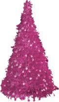 Композиция фольгированная Ёлка Mister Christmas (h=2,4 м; цвет: голубой) купить