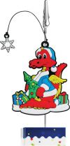 PVC-2012/31 Держатель для бумаги Дракон Mister Christmas (h=12 см; в ассортименте) купить