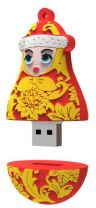 PVCS-33 USB накопитель Снегурочка Mister Christmas, 2 GB купить