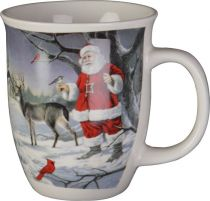SBS-01 Кружка с изображением Дед Мороз Mister Christmas (h=14 см) купить