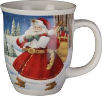 SBS-07 Кружка с изображением Дед Мороз Mister Christmas (h=14 см) купить